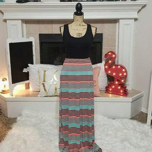 Stitch fix gilli vail maxi dress medium